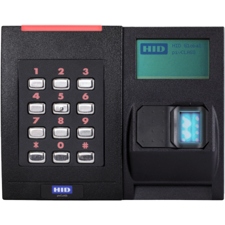 HID - iClass SE - Biometric - Display Reader RKLB40